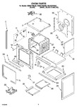 Diagram for 03 - Oven Parts