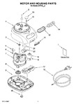 Diagram for 01 - Motor And Housing Parts
