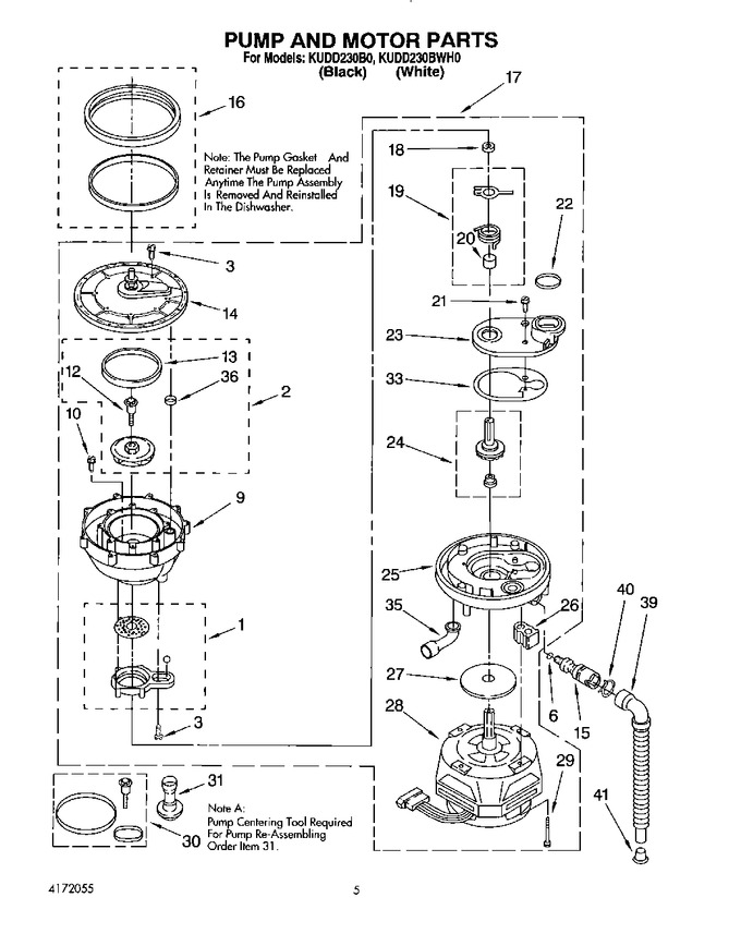 Diagram for KUDD230BWH0