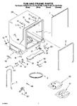Diagram for 07 - Tub And Frame Parts