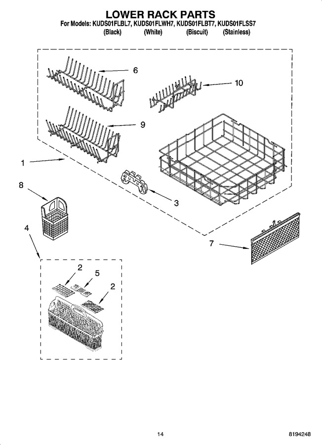 Diagram for KUDS01FLWH7