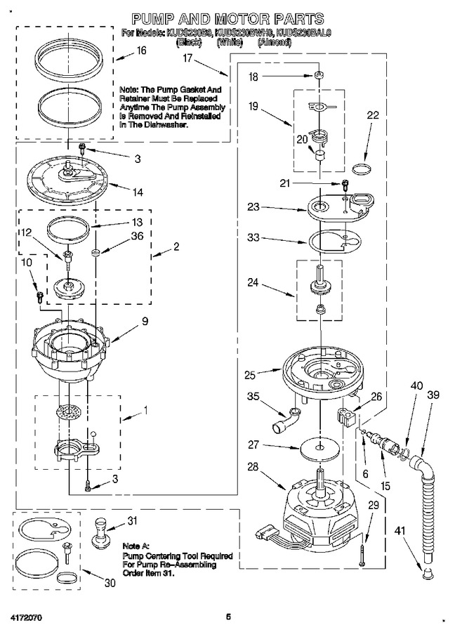 Diagram for KUDS230BWH0