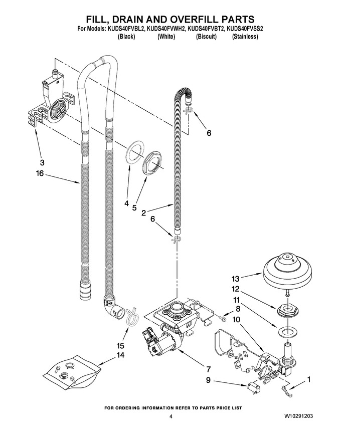 Diagram for KUDS40FVWH2