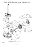 Diagram for 06 - Brake, Clutch, Gearcase, Motor And Pump