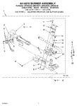 Diagram for 04 - 8318272 Burner