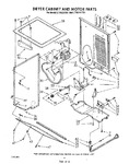 Diagram for 04 - Dryer Cabinet And Motor