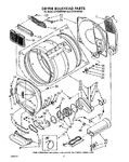 Diagram for 05 - Dryer Bulkhead