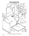Diagram for 08 - Washer Cabinet