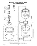 Diagram for 11 - Agitator, Basket And Tub