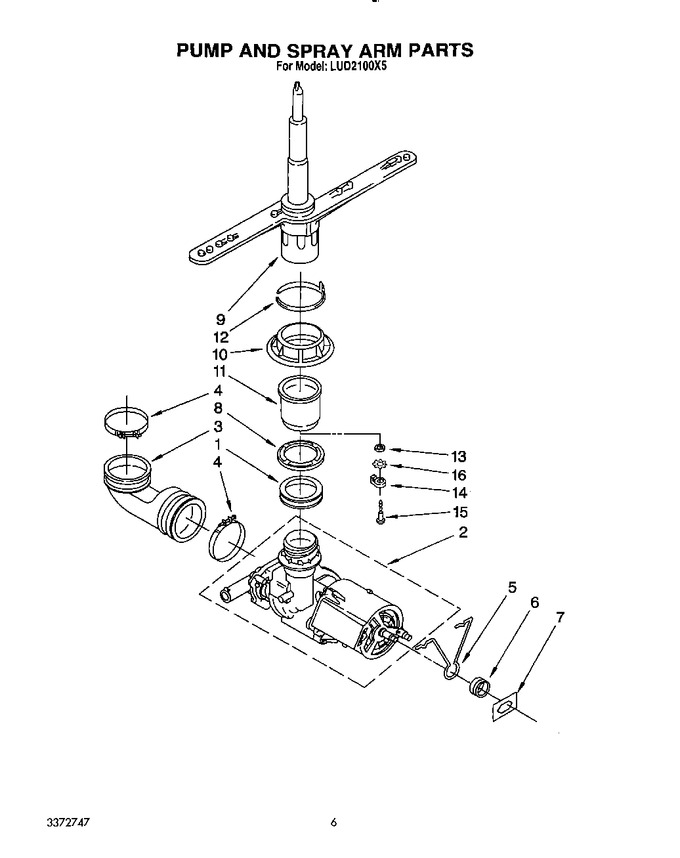 Diagram for LUD2100X5