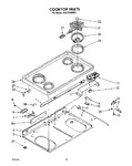 Diagram for 03 - Cooktop