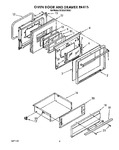 Diagram for 08 - Oven Door And Drawer