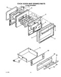 Diagram for 09 - Oven Door And Drawer