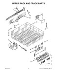 Diagram for 10 - Upper Rack And Track Parts