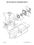 Diagram for 05 - Motor And Ice Container Parts