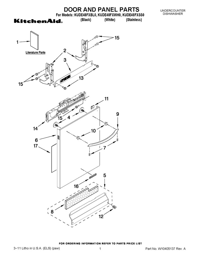 Diagram for KUDE48FXSS0