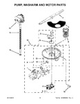 Diagram for 07 - Pump, Washarm And Motor Parts