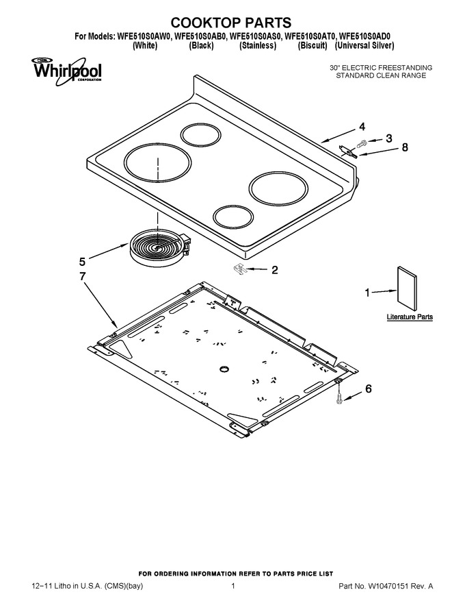 Diagram for WFE510S0AD0