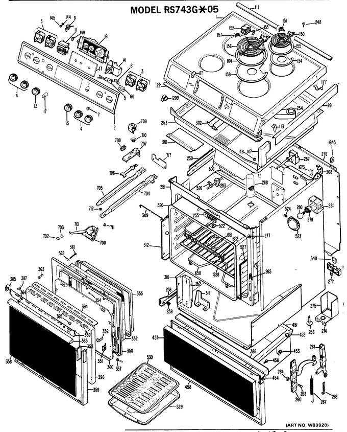 Diagram for RS743G*05