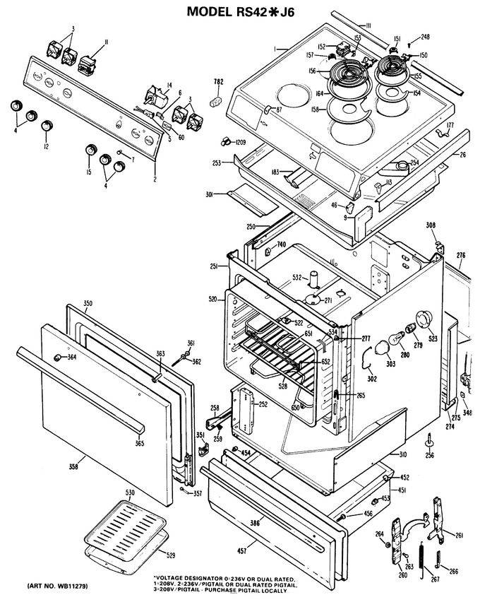 Diagram for RS42*J6