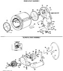 Diagram for 3 - Drum & Duct Assembly
