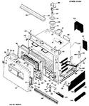 Diagram for 2 - Lower Oven
