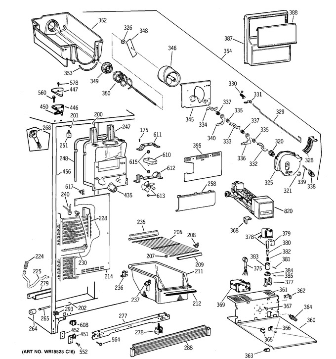 Diagram for TFX22QRCEWW
