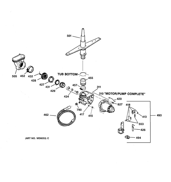 Diagram for GSD2110C05AA