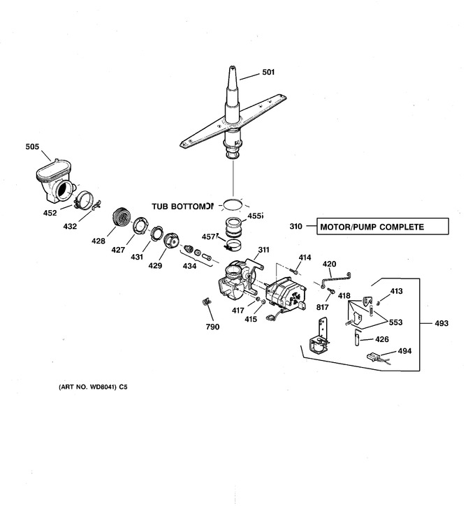 Diagram for GSD3715D00AA