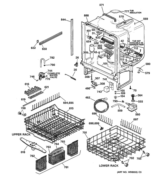 Diagram for ZBD4200D00WW
