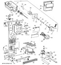Diagram for 2 - Freezer Section