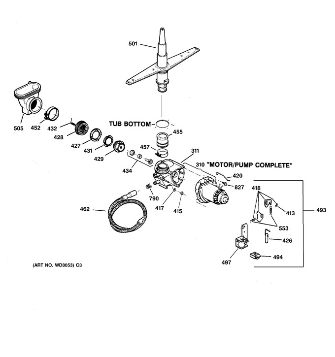 Diagram for GSD2030F00WW