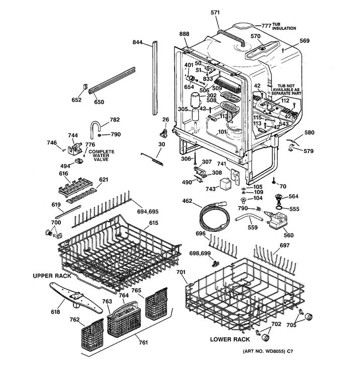 Diagram for ZBD4500D01SS