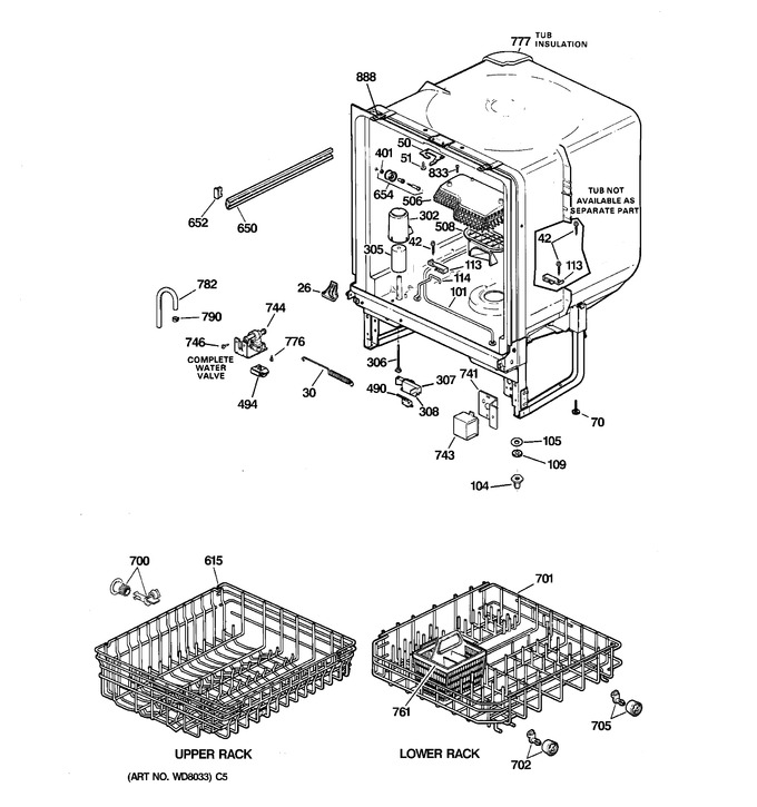 Diagram for GSD2000F01WH
