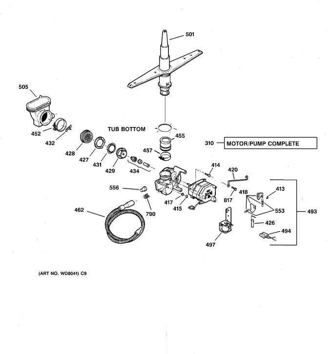 Diagram for HDA2000F01WH