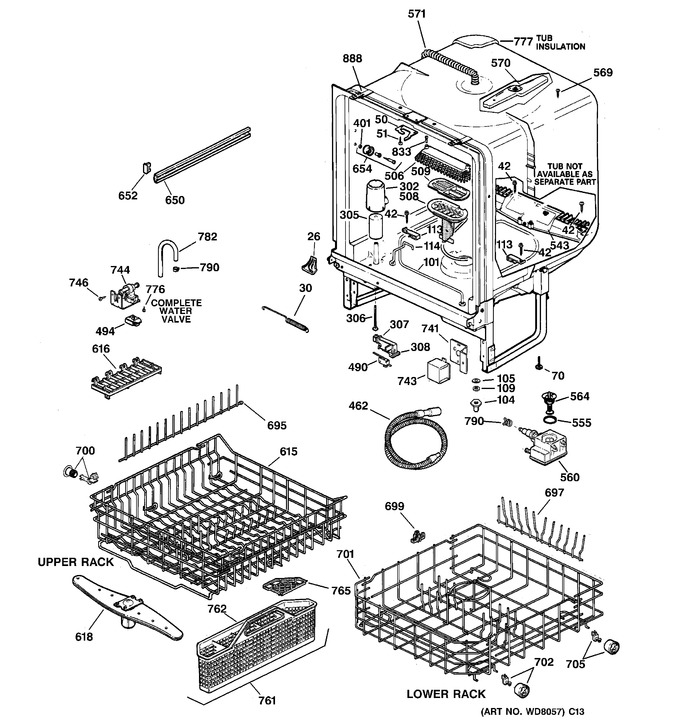 Diagram for GSD5122F03BB