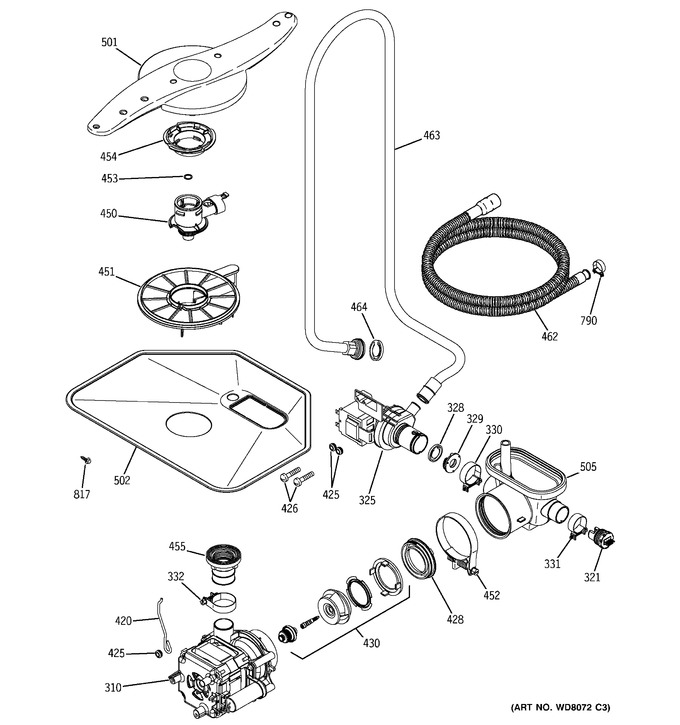 Diagram for PDW7700G00CC
