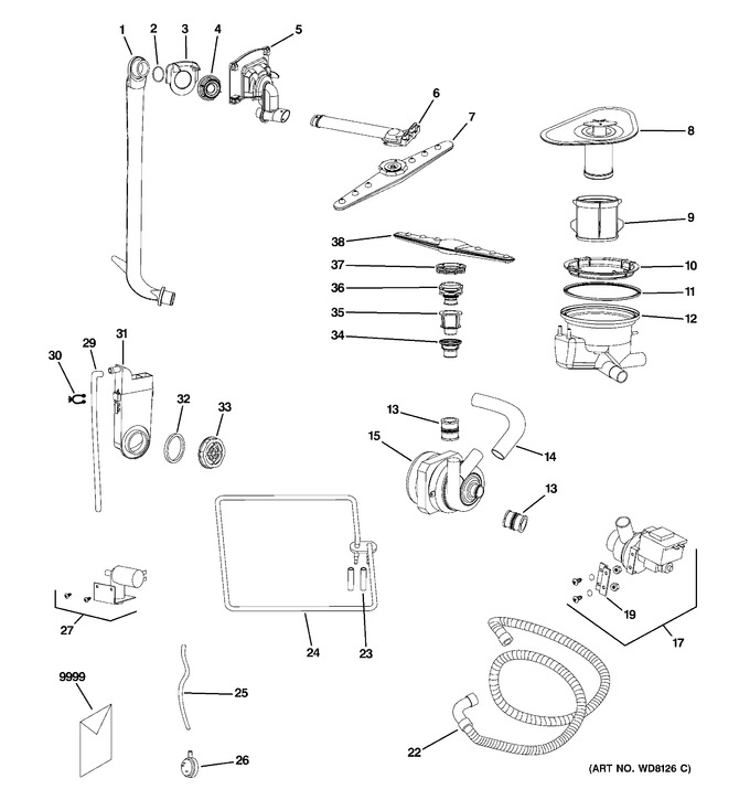 Diagram for ZBD1800GSS