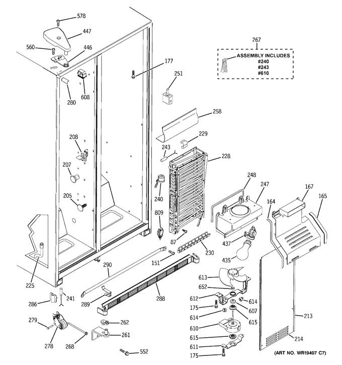 Diagram for GSS25JFPHWW