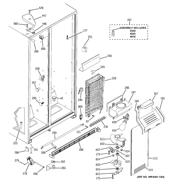 Diagram for GSS25IFRJBB