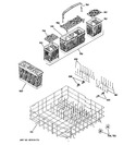 Diagram for 4 - Lower Rack Assembly