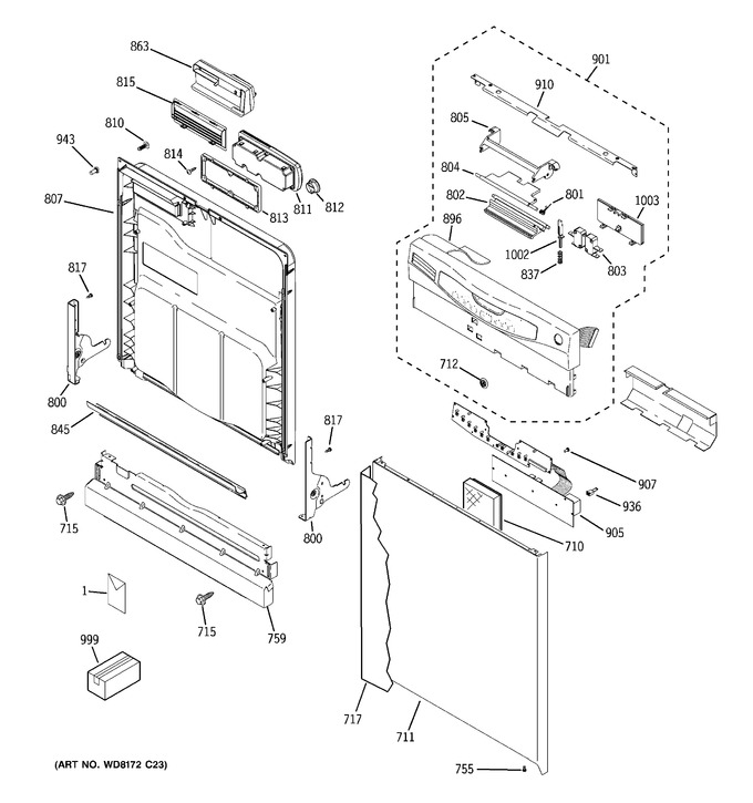 Diagram for GLD4209L15SS