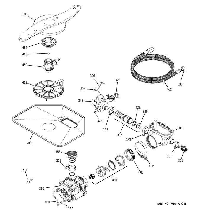 Diagram for GLD6210L15SS