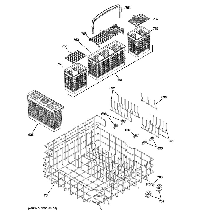 Diagram for PDW9700J00II