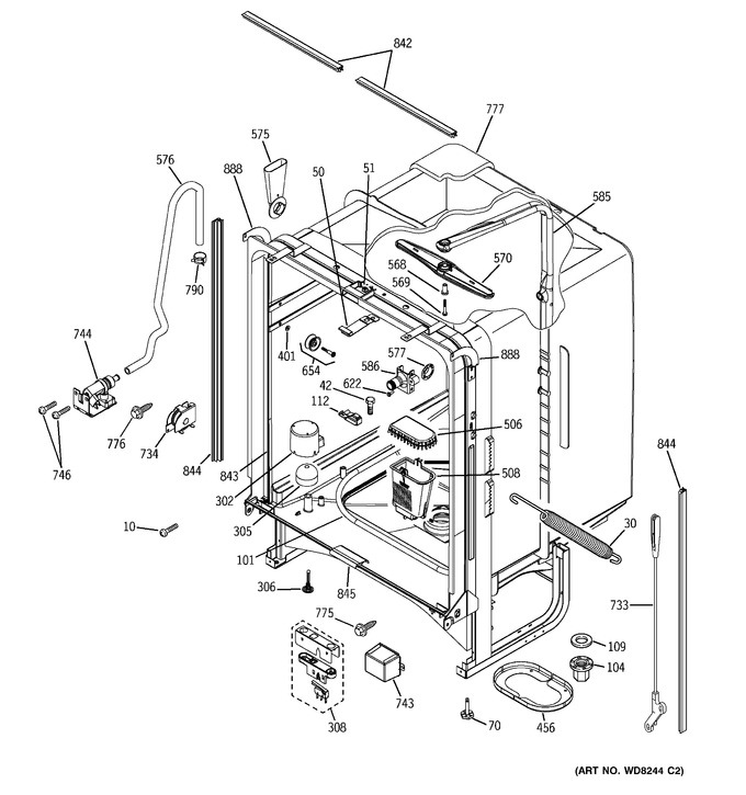 Diagram for PDW7300N15BB