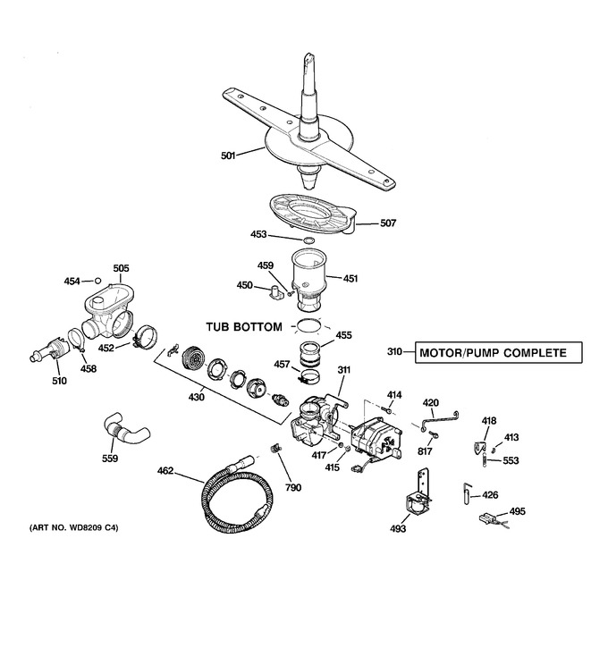 Diagram for GSD3360N00SS