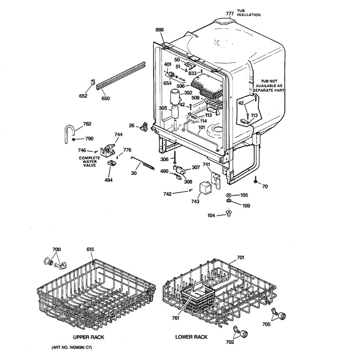 Diagram for GSD1900J01WH