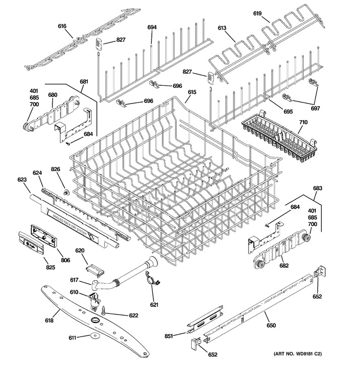 Diagram for PDW9900N20BB