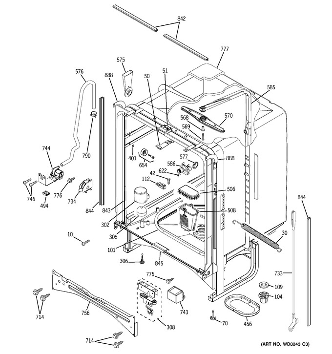 Diagram for PDW7912N20BB