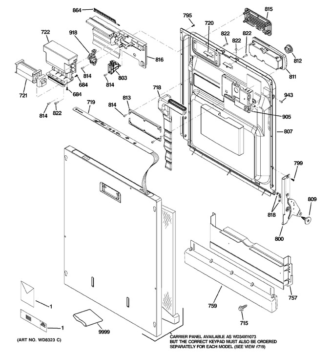 Diagram for ZBD6900P00II